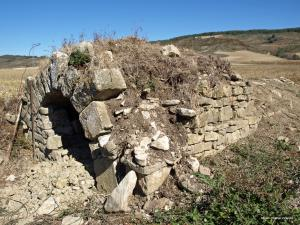 La fuente medieval de Iturzar es la más antigua de Monreal. SIMEÓN HIDALGO