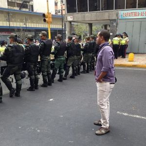 El periodista venezola Odell López