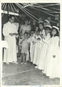 Se celebran muchos sacramentos durante la Misa de Navidad. CEDIDA
