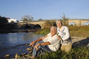 Para el matrimonio el río Arga es un tesoro que no se valora. Les entristece saber que la cantidad de especies ha disminuido mucho.