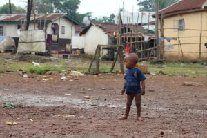 Sierra Leona ocupa un lugar privilegiado entre los países más pobres del mundo. Foto de Freetown