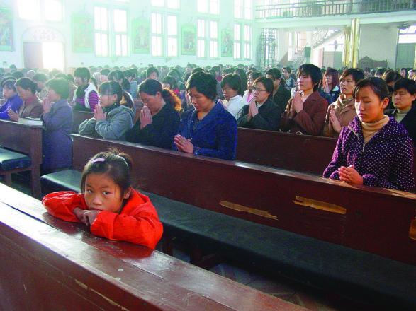 En China, la Iglesia Católica es una, pero está dividida en una comunidad oficial y otra clandestina. NUESTRO TIEMPO.
