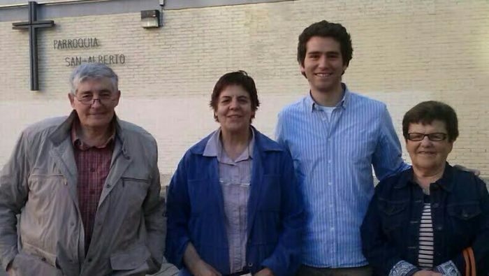 Emilio, Arantza, Alfons y Rosana. CEDIDA.