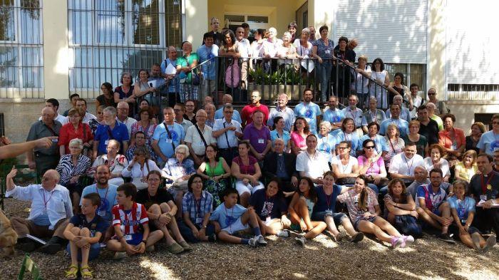 En el XXV Encuentro de la Pastoral del Sordo en El Escorial. CEDIDA.