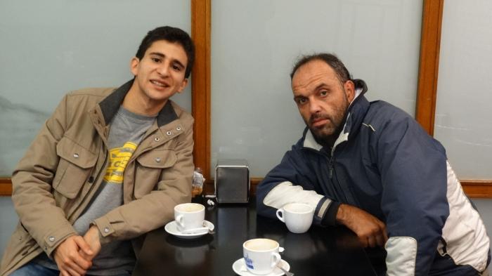 Juancho Argencio y Vicente, el héroe de Estafeta